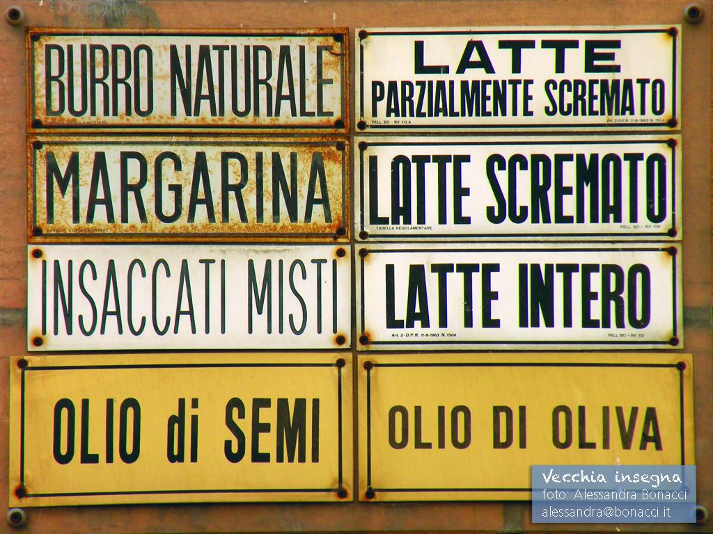 Fotografia Italy | Vecchia insegna | Fotografia di Alessandra Bonacci
